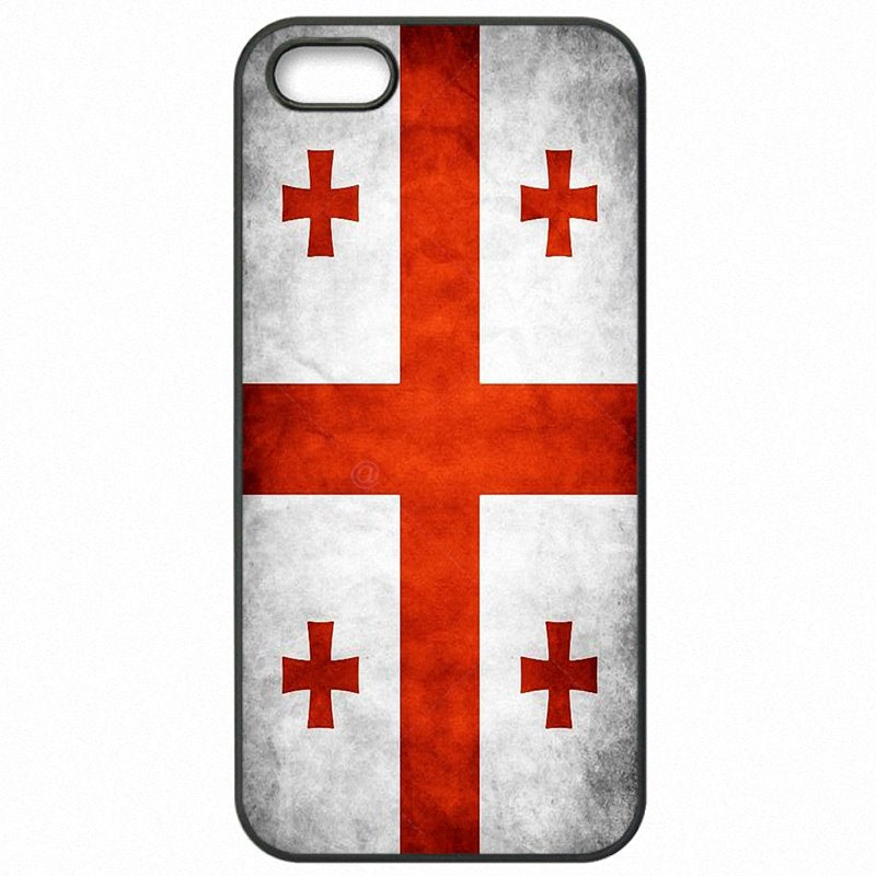 For Nokia Case Mobile Phone Capa GE Georgia Grunge Flag Banner For Nokia Lumia 830 Affordable
