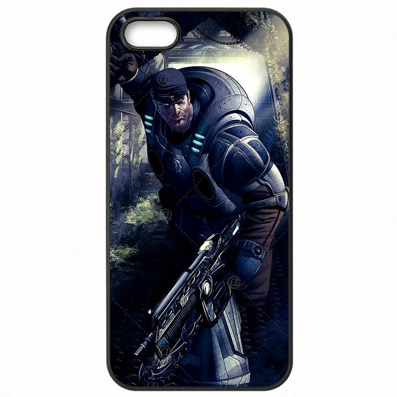 Cell Phone Case Capa Gears Of War Inspired Marcus And Dom Skull Marcus Fenix For Galaxy J5 Prime G570DS Discount