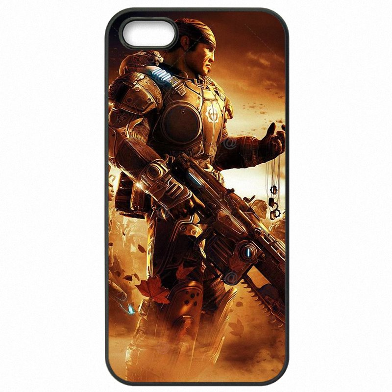 Protector Phone Bags Gears Of War Inspired Marcus And Dom Skull Marcus Fenix For Lenovo K50-T3s Launch