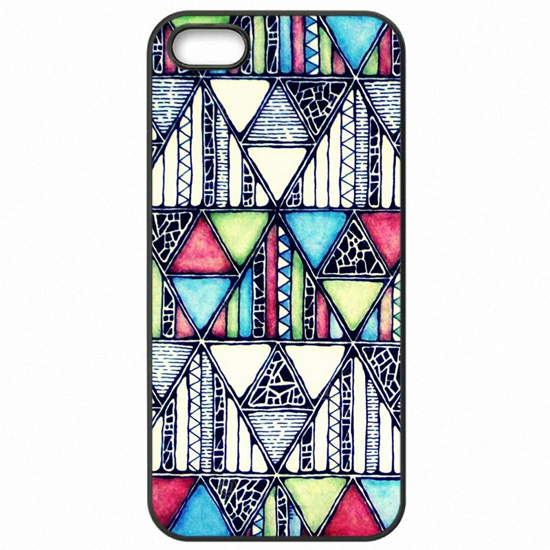 Accessories Phone Cover Shell Geometry Pastel Tribal Ethnic Aztec triangle Pattern For LG L90 Sales