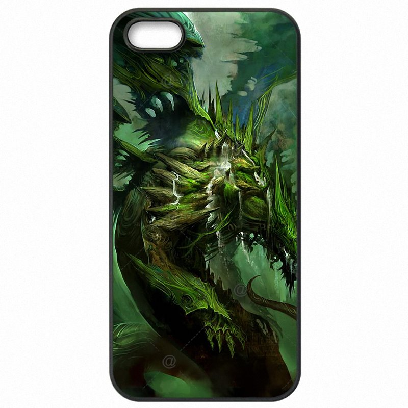 Less For iPhone 6S A1687 Green Dragon Lager Eye Scary Myth Monster Protector Phone Shell Case