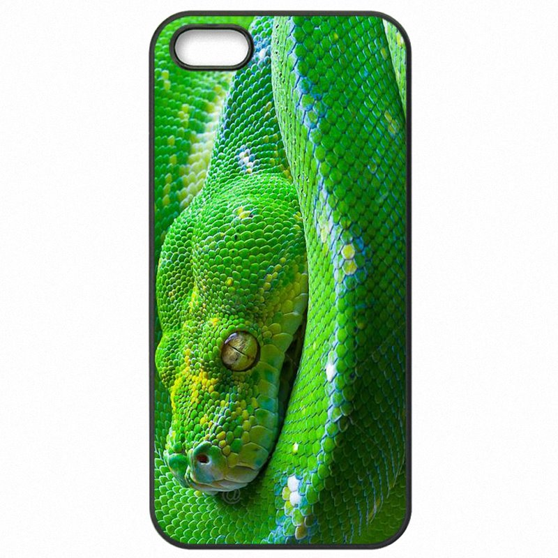 Enjoy Green Snake Art Print Pattern Poster For Huawei P10 Lite Accessories Pouches Bags Shell