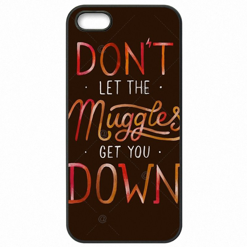 Hot Sale Harry Potter Don't Let The Muggles Art Poster For HTC One M7 801E Protective Phone Coque For HTC Case