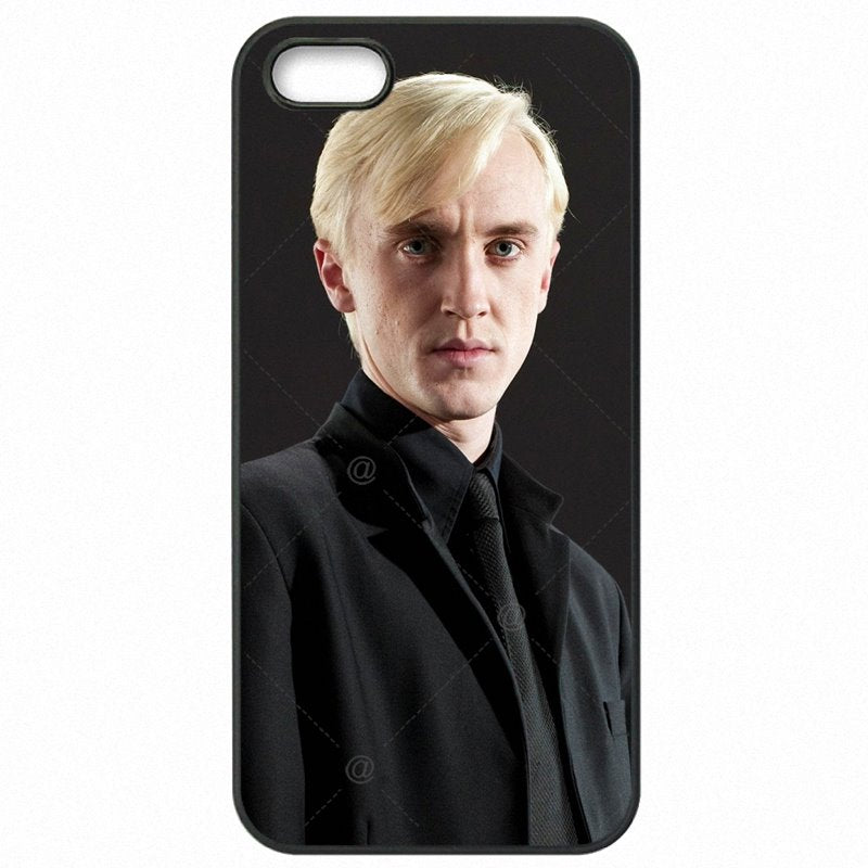 Unexpensive Harry Potter Draco Malfoy Art Poster For Galaxy S4 Mini I9190 Hard Mobile Phone Case Capa
