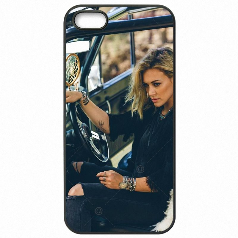 Mobile Pouch Cover Fundas For Sony Xperia XA F3112 Hilary Duff sweet Girl Star Release