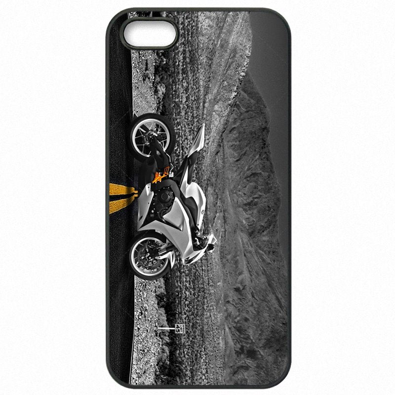 For HTC Case Hard Mobile Phone Cover Skin Honda CBR1000rr Bike Print For HTC One M7 801E Pas Cher