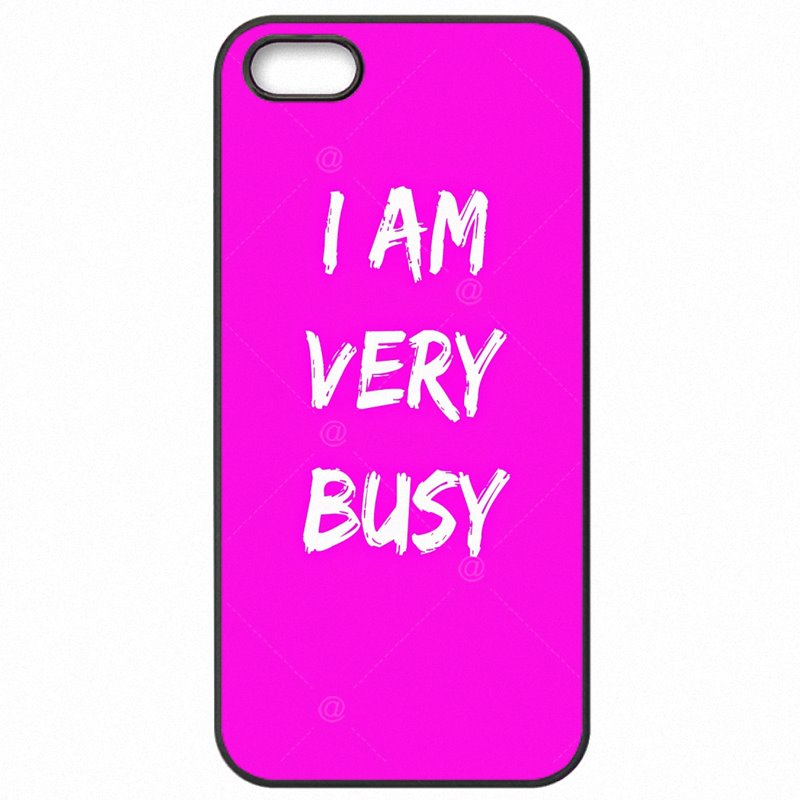 For Youth Girls I Am Very Busy Pink Agenda For LG Nexus 5X Mobile Phone Capa For Google Case