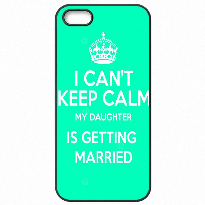 Release For Sony Xperia C3 D2502 I can't keep calm my daughter is getting married Protective Phone Case