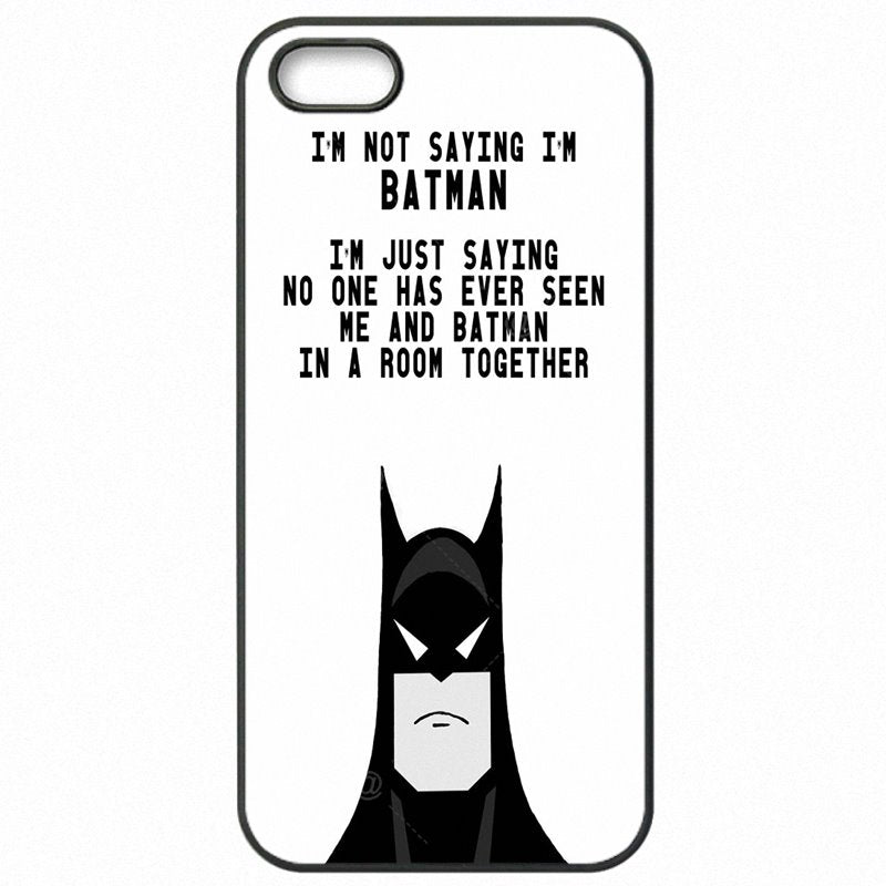 Accessories Pouches Case Capa I'm Not Saying I'm Batman Art For Lenovo K3 Note Most Expensive