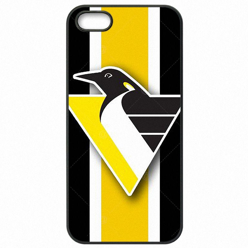 Hard Mobile Phone Cover Shell Ice Hockey Pittsburgh Penguins Logo Pattern Print For Xiaomi Redmi Note 3 Pro Lady