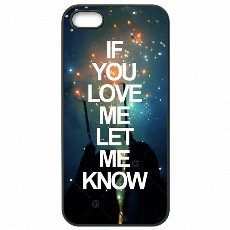 Protective Phone Cases Cover For Galaxy A7 2016 A7100 If you love me let me konw Type Of