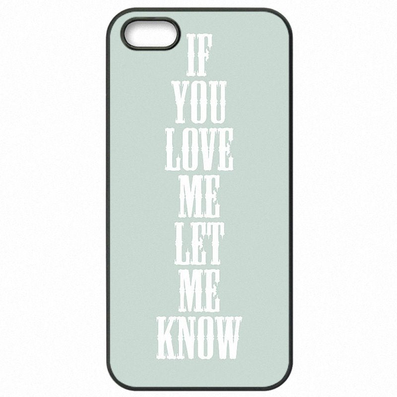 The Latest If you love me let me konw For LG G3 D859 Cell Phone Bags