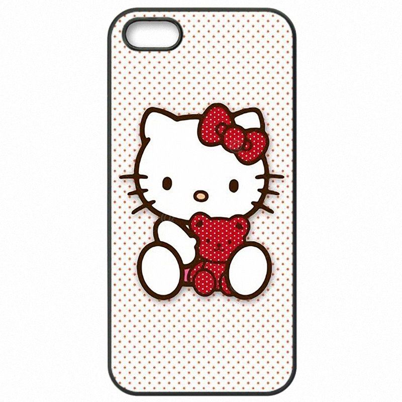 Personalised For HTC One M9W Japan Cartoon Animals Pink hello Kitty Painting Pattern Protector Phone Bags