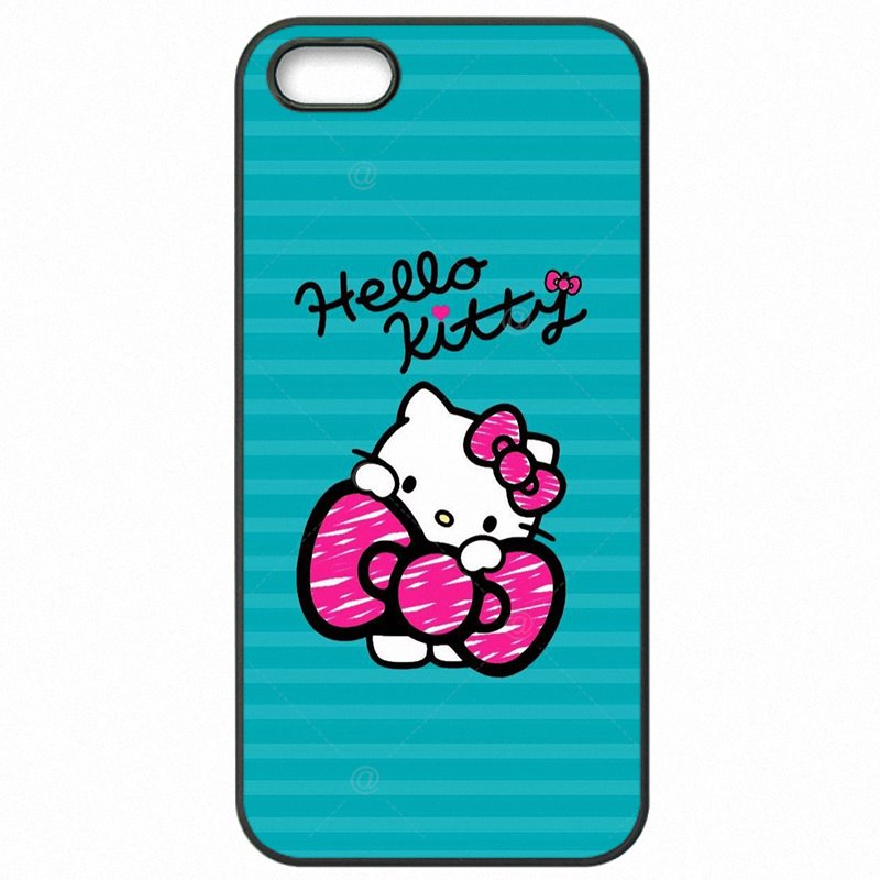 Cell Phone Shell Case For Galaxy S5 Active G870A Japan Cartoon Animals Pink hello Kitty Painting Pattern Nouvel