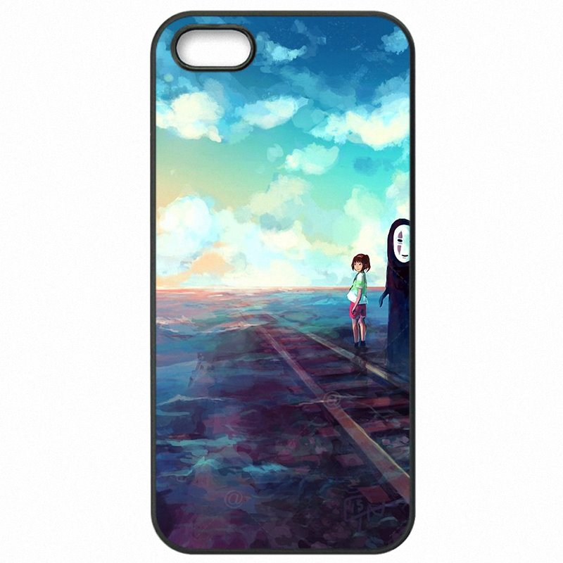 Hard Mobile Phone Cover Fundas Japanese Cartoon Spirited Away No Face Character For Nokia Lumia 650 Nouvelle