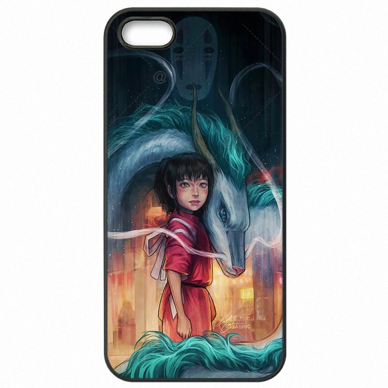 Men Japanese Cartoon Spirited Away No Face Character For Nokia Lumia 650 Plastic Phone Case