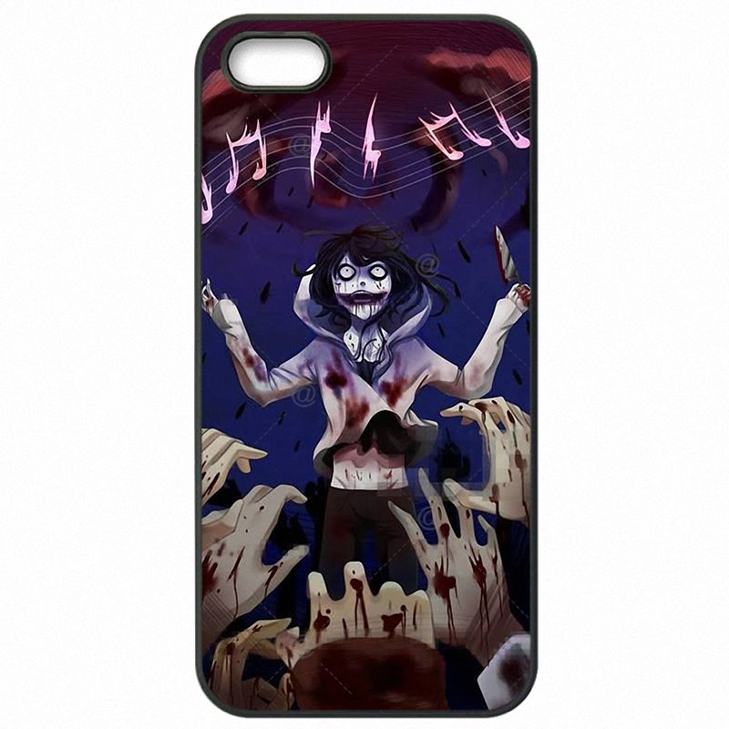 Hard Plastic Phone Accessories For Lenovo A6010+ Jeff the killer Horror Animation Jeunes