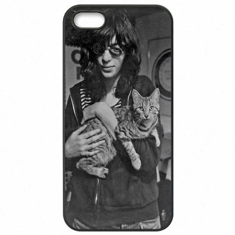 Protective Phone Cases Cover Johnny Ramone The Ramones guitar player Band 1974 Logo For Lenovo K6 Note Enfants