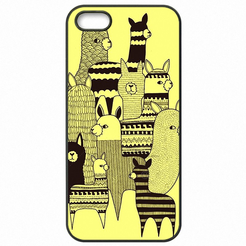 Protective Phone Shell Case For Huawei Honor 4X Kawaii Alpacas Collage Pattern Youth Girls