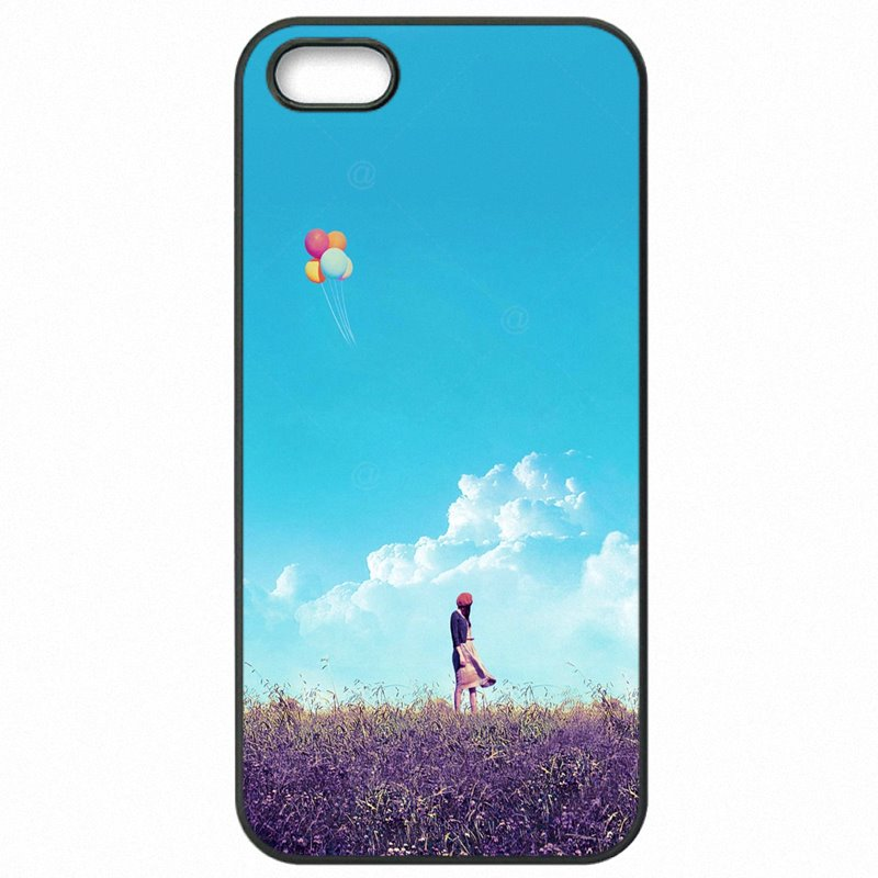 Accessories Phone Cover Bags For Huawei Honor 5C Kawaii Balloon Girl Pattern Upcoming
