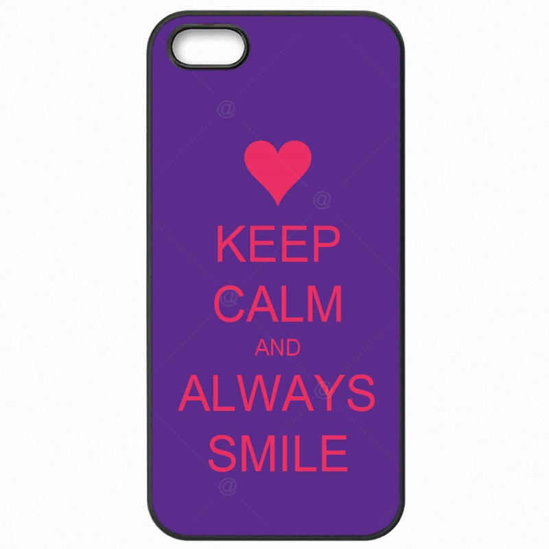 Mobile Phone Bags Keep Calm And Always Smile For Galaxy Note Edge N915FY For Youth