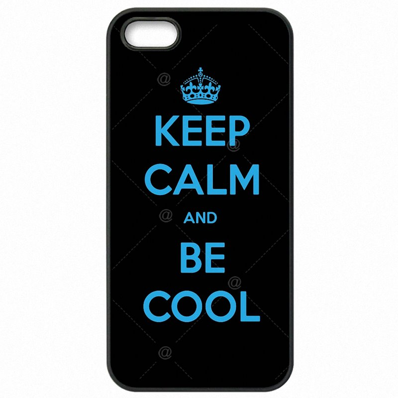 Mobile Pouch Bags Case Keep Calm And Be Cool For Sony Xperia C3 Large