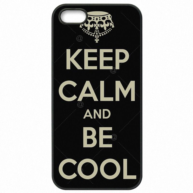 Mobile Phone Bags Case Keep Calm And Be Cool For Xiaomi Redmi 2 4.7 inch Choose