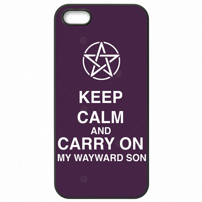 Accessories Phone Fundas Keep Calm And Carry On My Wayward Son For Nokia Lumia 650 Best Quality