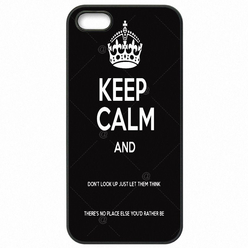 Fiyat Keep Calm And Look Up Pattern Huawei Mate 7 6 inch Hard Plastic Phone Cover Shell
