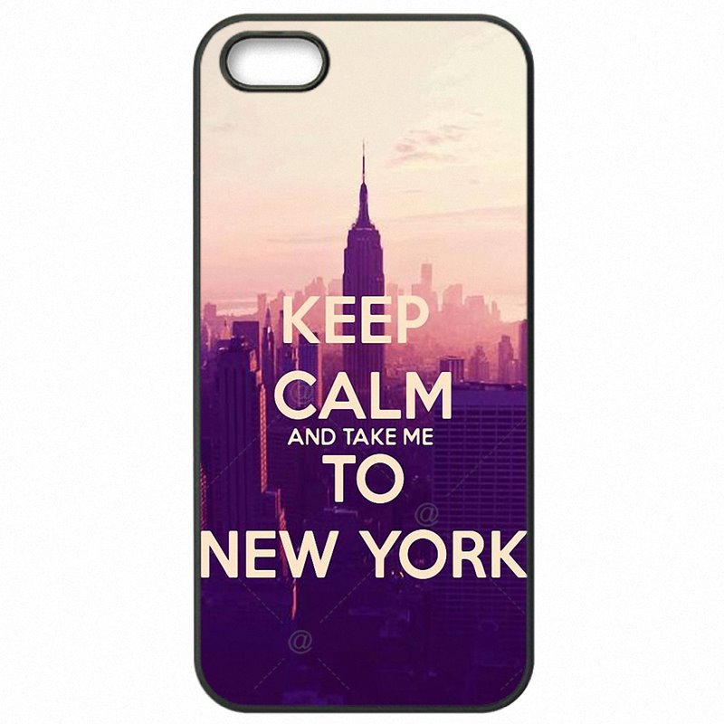 Best Discount For LG K10 M250N Keep Calm and go to New York NY For LG Case Mobile Pouch Capa