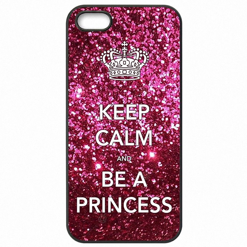 Protective Phone Skin Case Keep Calm be a Princess Print For Huawei P10 Lite On Sale