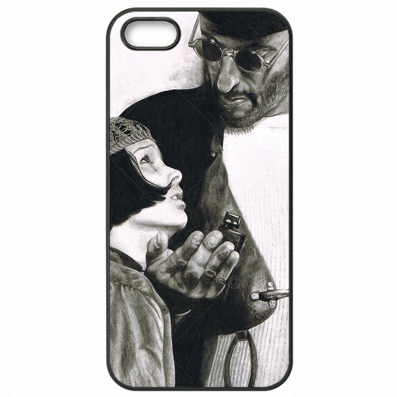 Inspirational For iPod Touch 6 Killer Leon and Mathilda Cartoon Movie Art For iPhone Case Protector Phone Covers