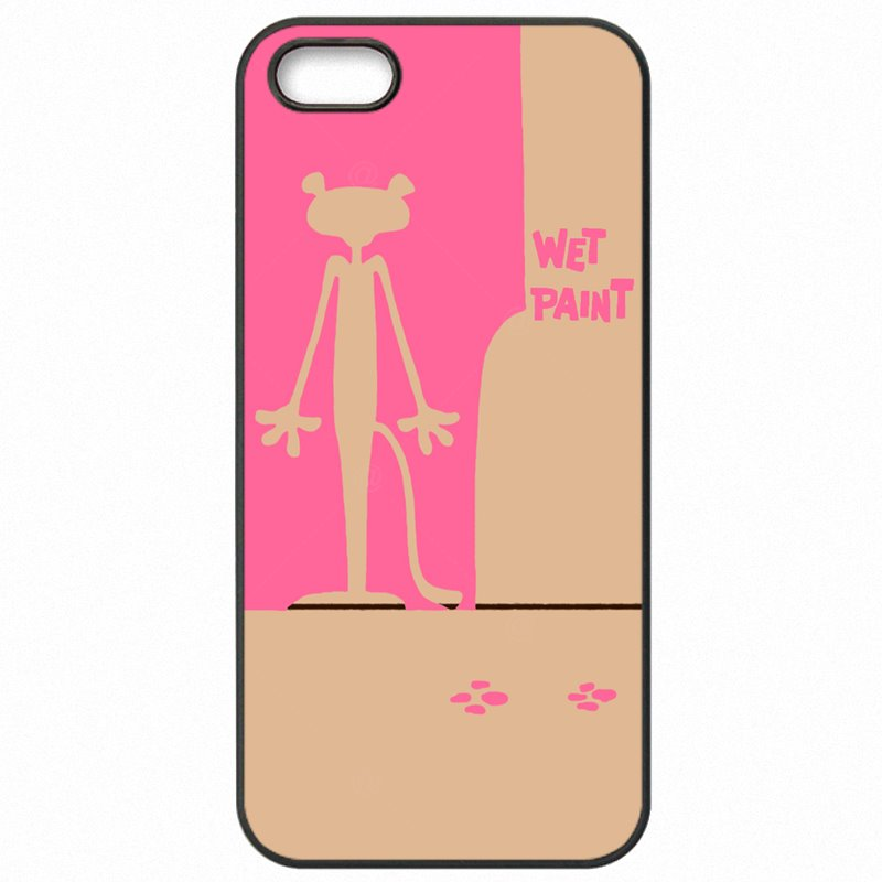 Freshly For Sony Xperia M2 Dual  Korea Pink Panther Cartoon Panthera Lovely Naughty Accessories Pouches Cases