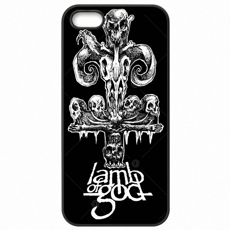 Best Lamb of God Heavy metal rock music Poster For Xiaomi Redmi Note 3 Pro Hard Plastic Phone Accessories