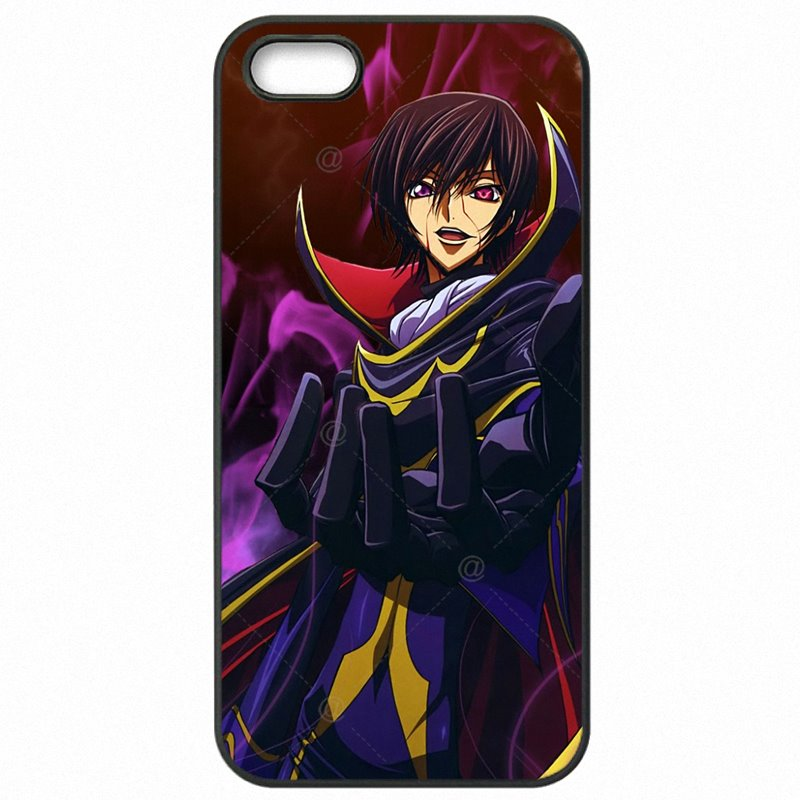 Hard Plastic Phone Skin Case For iPhone 6S A1688 Ley Lamperouge Hangyaku no Lelouch Lost Colors Big