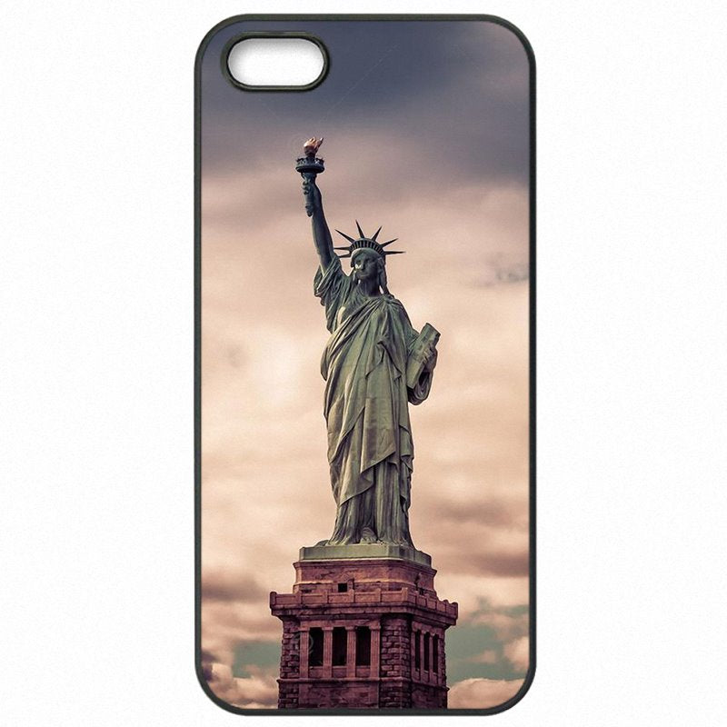 Cell Phone Case Cover For Galaxy S5 Active G870A Liberty Enlightening the World Statue Of Liberty Enfants