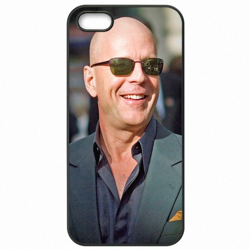 Protector Phone Shell For Galaxy S4 Mini I9195I Live Free or Die Bruce Willis sexy Man Cheap Real