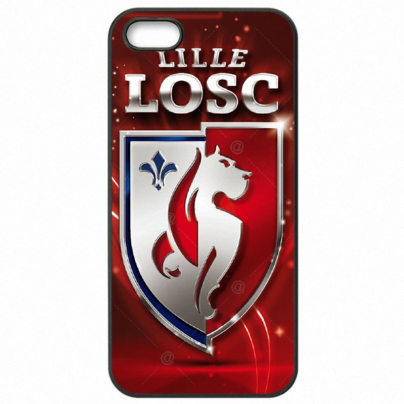 Plastic Phone Skin Losc Lille logo French Football League For Sony Xperia XA F3116 Youth