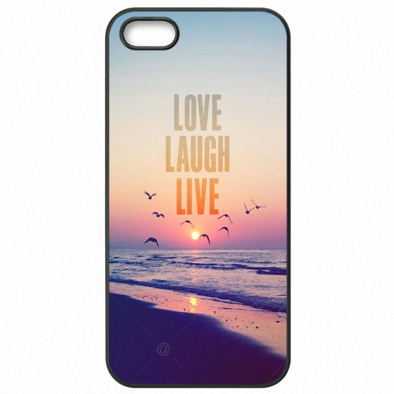 Prezzo Love. Laugh. Live Life Quote Print For Galaxy S5 Active G870A Protector Phone Coque