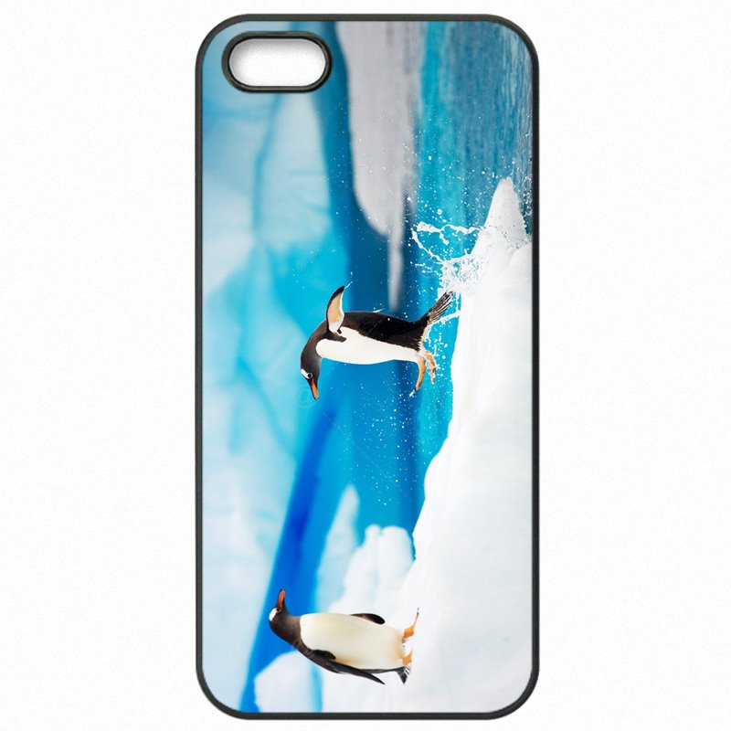 Extreme Lovely Art Print Penguin Cartoon Print For Sony Xperia M2 S50H Plastic Phone Cover Skin
