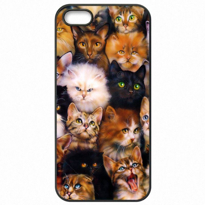 Protector Phone Bags Case Lovely Cat Collage Pattern Print For Galaxy S3 i9301i Magasin