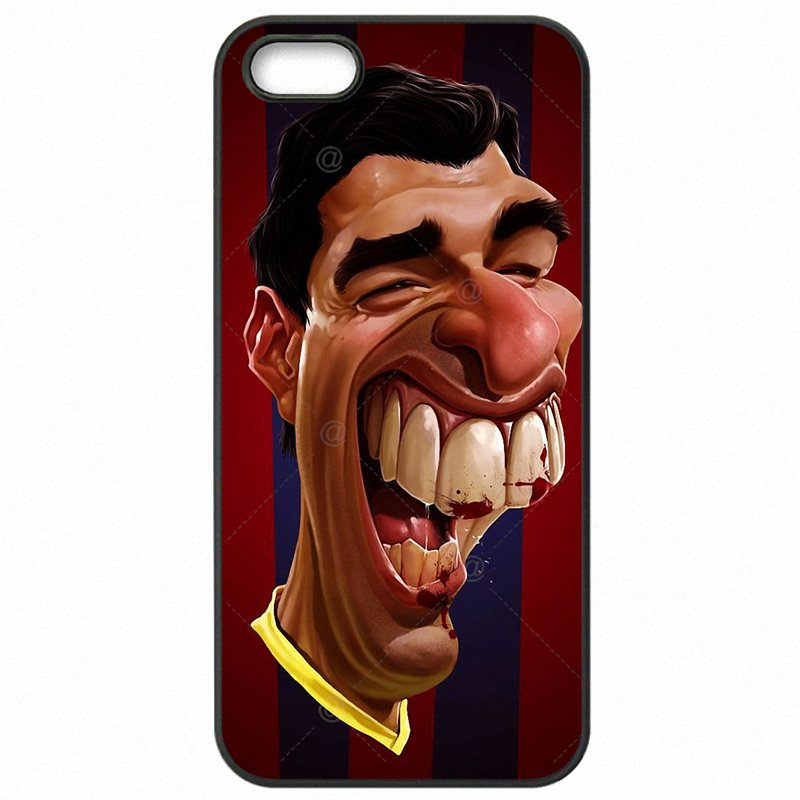 Accessories Pouches Shell Case For iPhone 6S Plus Luis Suarez Spain Star football For Junior