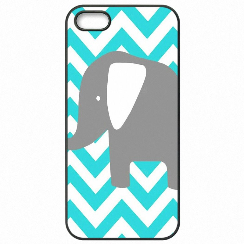 Accessories Pouches Accessories Luxury Mint and Grey Elephants Art For Samsung Galaxy A7 2016 Awesome