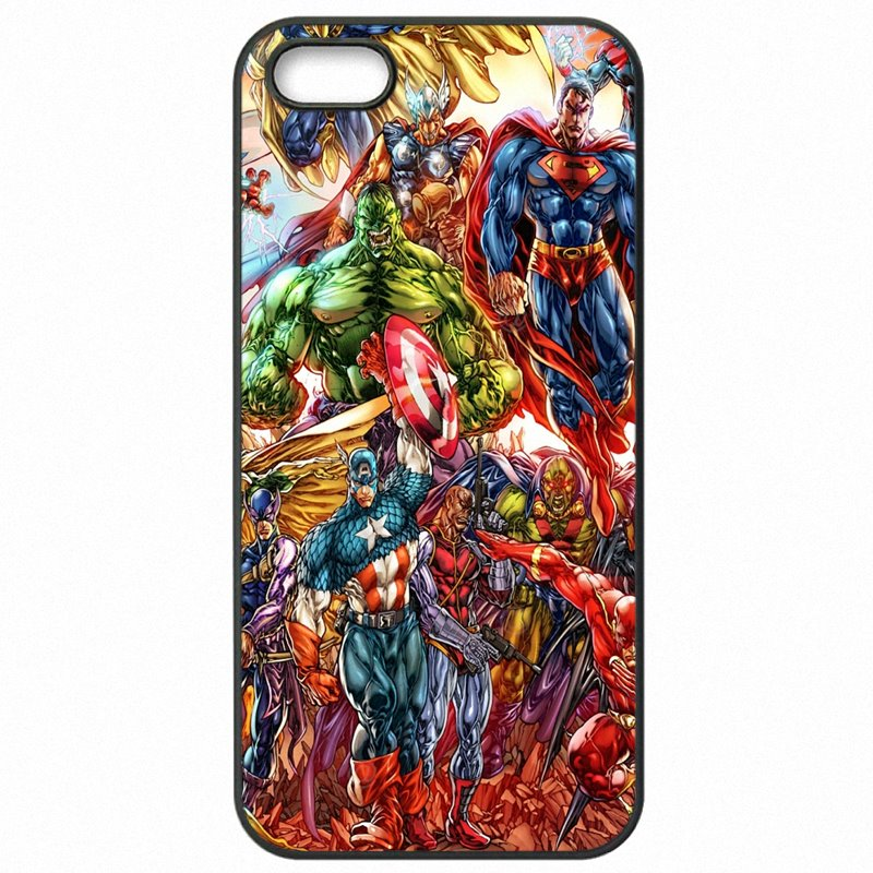Filles For Meizu Blue Note3 Marvel Comics Avengers Superhero Collages poster Accessories Pouches Skin