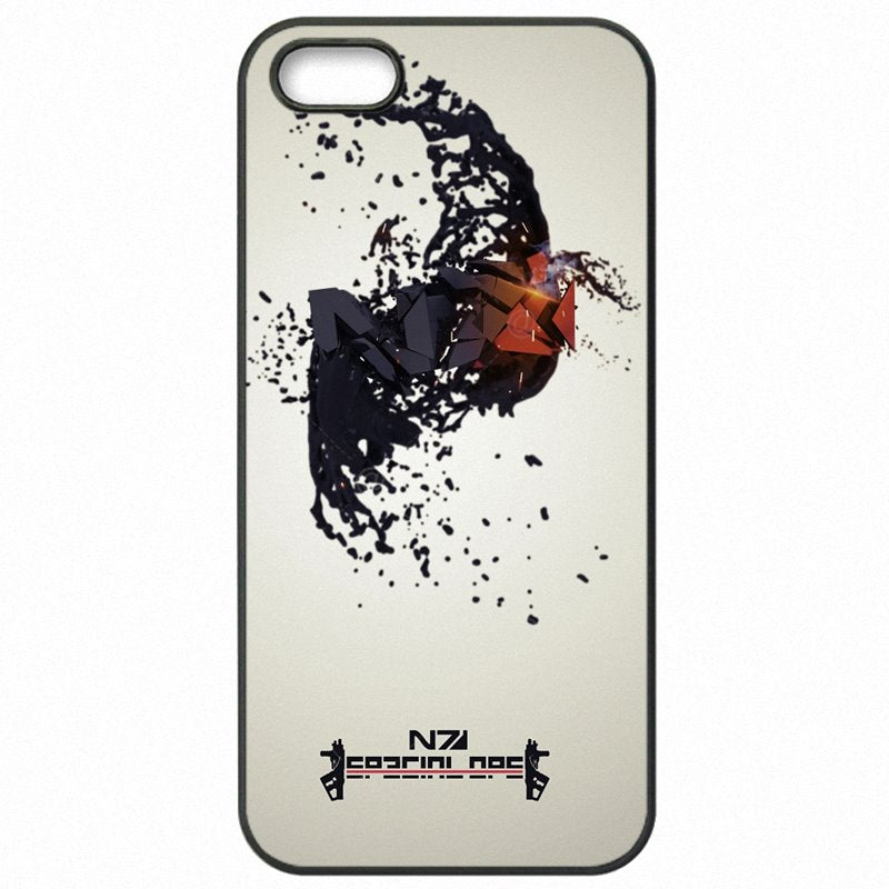 For Motorola Case Cell Phone Cover Bags Mass Effect N7 Armour Logo Print For Moto E2 4.5 inch Designer