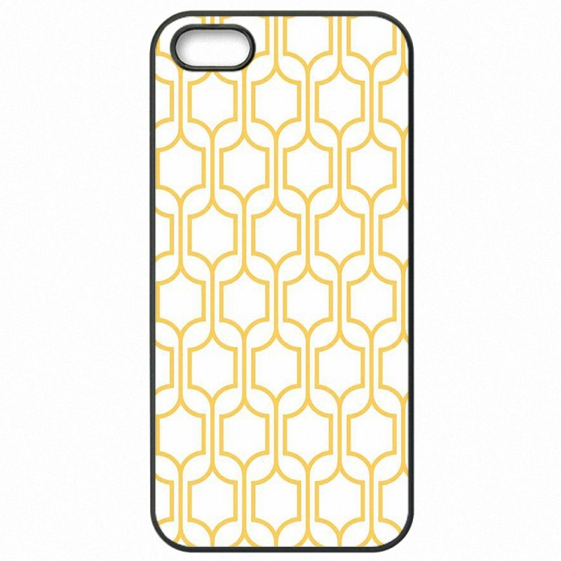 Youth For Lenovo A2010 4.5 inch Metallic Gold geometric trellis Print Protector Phone Cover Fundas