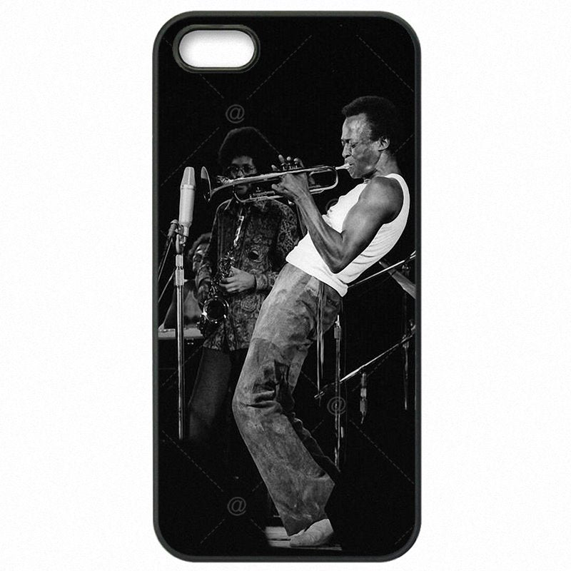 Coolest For Huawei P8 Lite Miles Davis A Explosiva Era do Jazz Hard Mobile Phone Bags Case