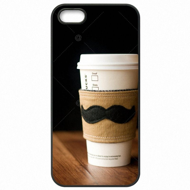 Lovely cute For Galaxy Note 4 N9106W Moustache beard ustache mustache Hard Mobile Phone Bags Shell