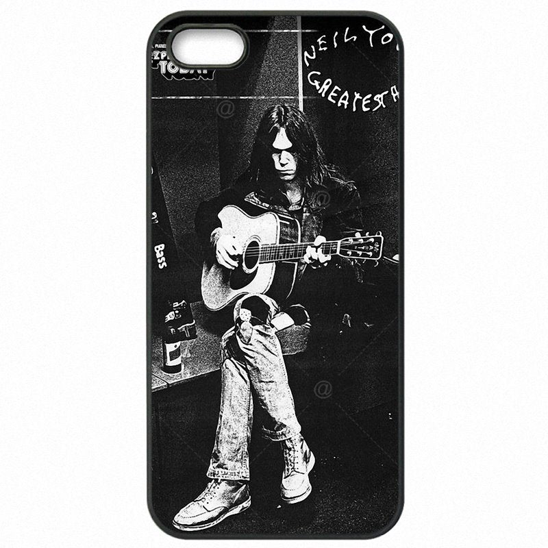 The Latest Neil Young Godfather of Grunge Poster For Moto E2 XT1527 Protector Phone Case Capa For Motorola Case