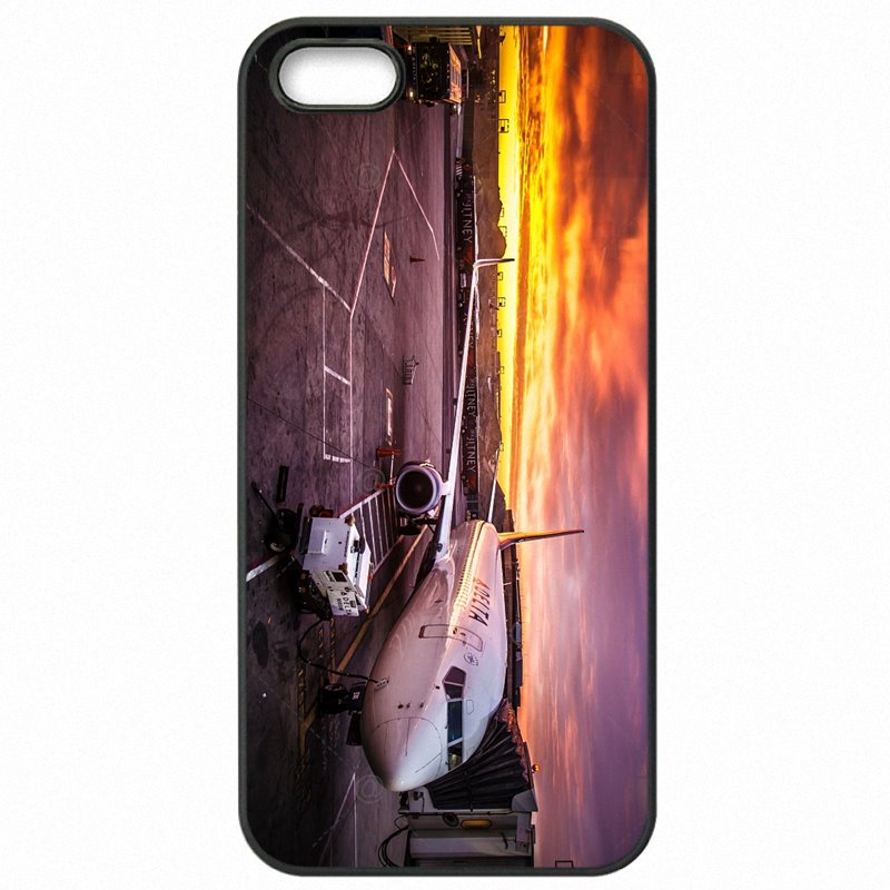 Retail Night Flight B737 Aircraft For Galaxy A3 2016 A310DS Hard Mobile Phone Covers